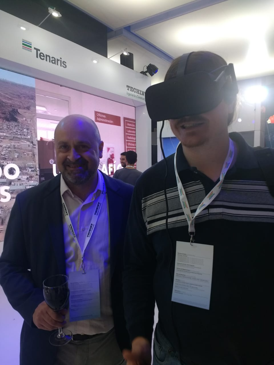 Virtual Dreams dijo presente en la Expo Oil & Gas de la mano de Techint